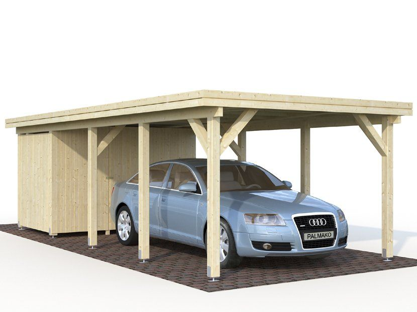 Cochera CARPORT KARL 23,1 m² 360×762