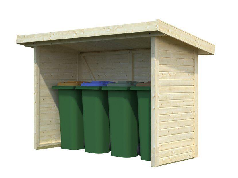 Cobertizo contenedores de madera casas carbonell - Caseta de plastico para jardin ...