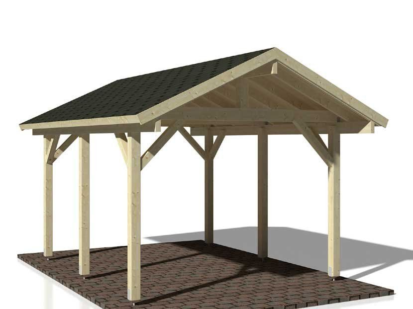 Cochera CARPORT ROBERT 11,7 m² 315×372