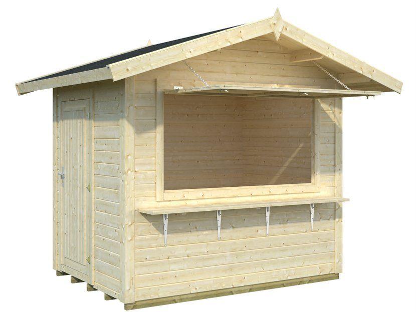 Kiosco de madera Stella 4,3m² 250×180