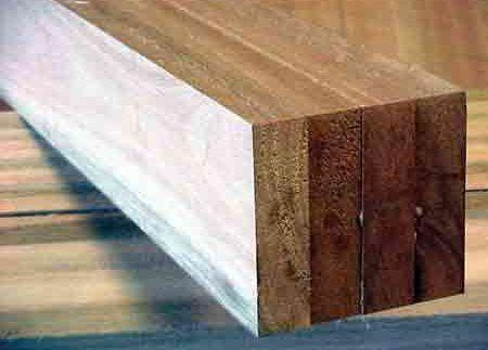 La madera como material constructivo.