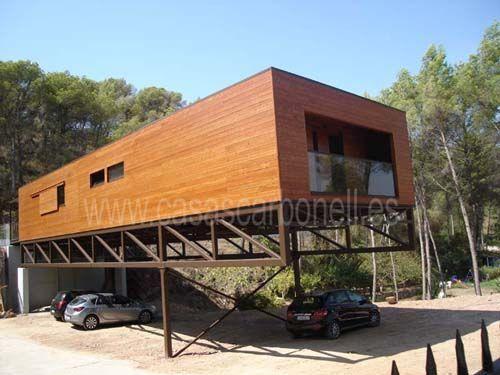 casas de madera de calidad en Casas Carbonell