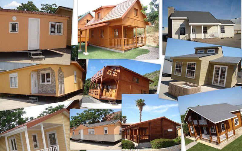Exposición de casas de madera y casas prefabricadas de Casas Carbonell