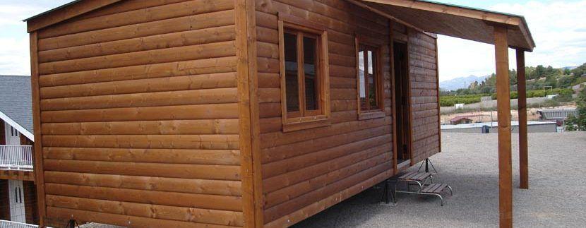 Casa de madera CCR 28 de Casas Carbonell