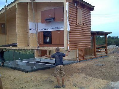 Casas de madera modulares ventajas de este sistema construtivo - Casas de madera modulares ...