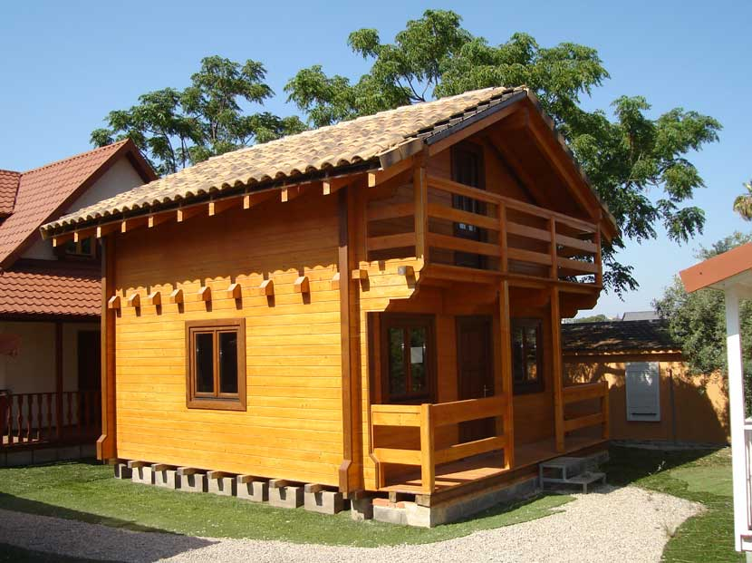 Ofertas de casa de madera y casas prefabricadas casas carbonell - Casas prefabricada de madera ...