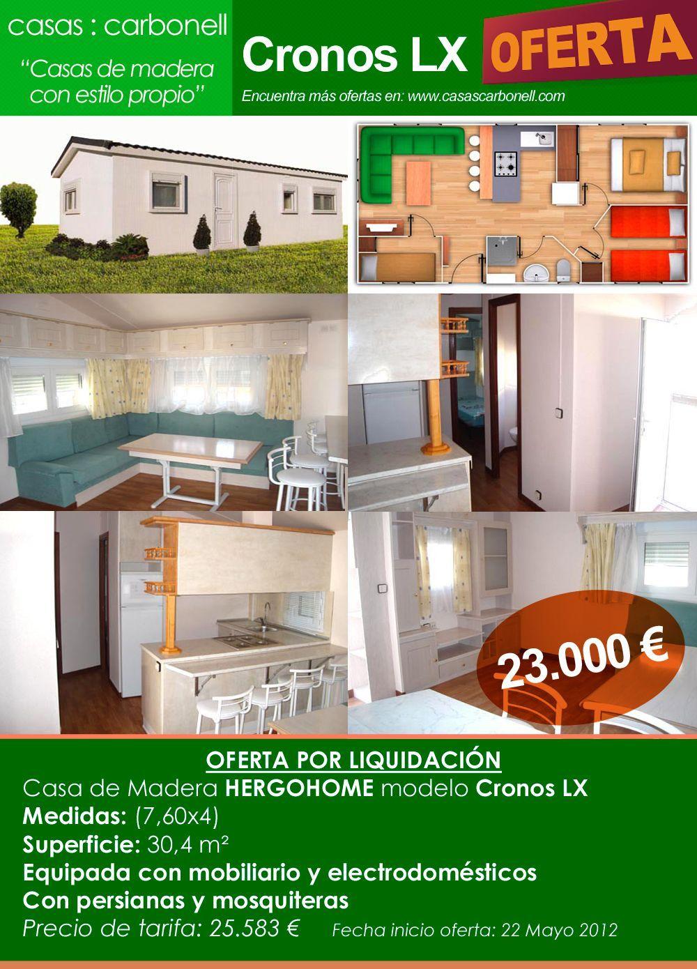Ofertas En Casas De Madera Y Casas Prefabricadas Casas Carbonell