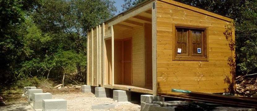 Las casas de madera se consideran bienes muebles o inmuebles - Casas de muebles ...