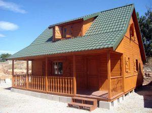 Casas de madera Carbonell, modelo Piscis