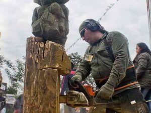 Escultores en madera