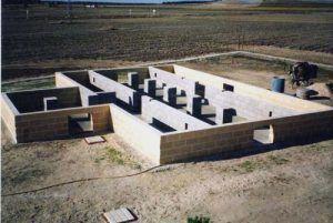 Cimentación de casas prefabricadas