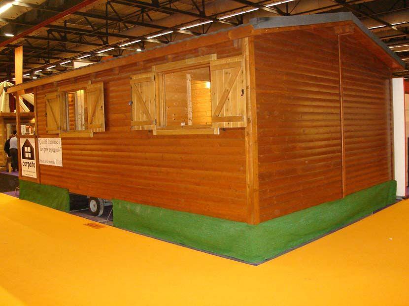 Casas madera con ruedas casas modulares casas m viles - Casas prefabricadas con ruedas ...