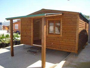 Casas modulares económicas, modelo de casa CCR 33 2H.