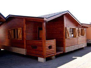 Casas madera Madrid modelo Calatis de Casas Carbonell