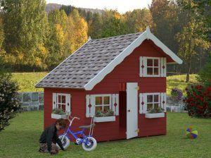 Casas madera infantiles, modelo Tom de Casas Carbonell