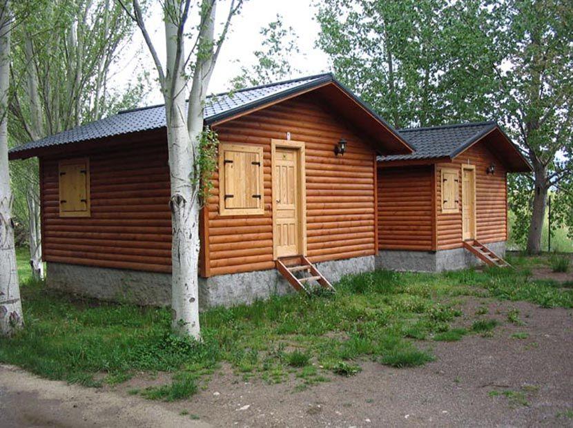 Casas de madera para camping, modelo Bungalow 26m²