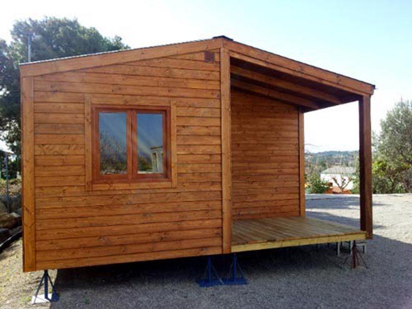 Casas econ micas de madera modelo ccr42 casa movil for Casas de madera precios y modelos