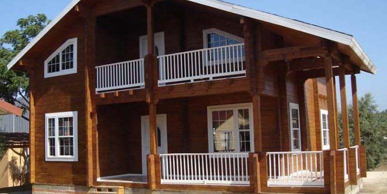 casa de madera modelo PortaCoeli de Casas Carbonell (2)