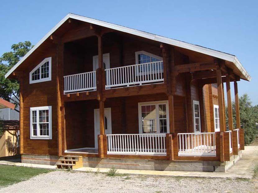 Oferta casa madera maciza, modelo Porta Coeli 185 m² VENDIDO