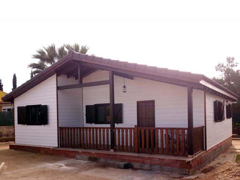 Casa de entramado ligero de madera, modelo Maria  85m²