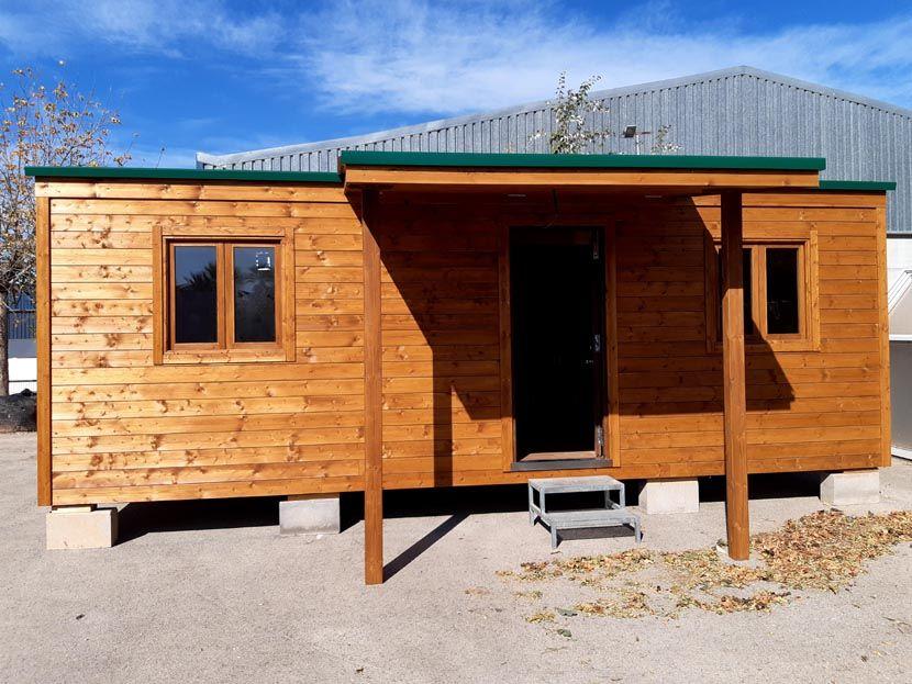 Oferta casa de madera económica de 50m²