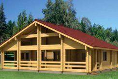 Casas de madera kit Esther