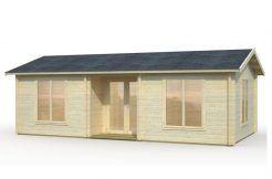 cabaña de jardín Anna 26.8 de Casas Carbonell en madera maciza