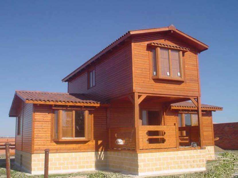 Casa prefabricada de madera modelo Crisana 122m²