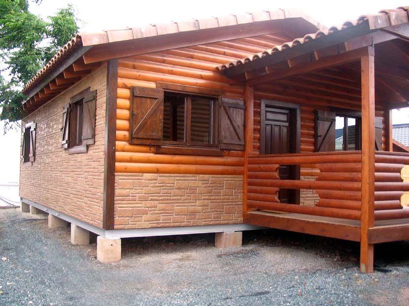 Casa de madera, oferta por cambio exposición