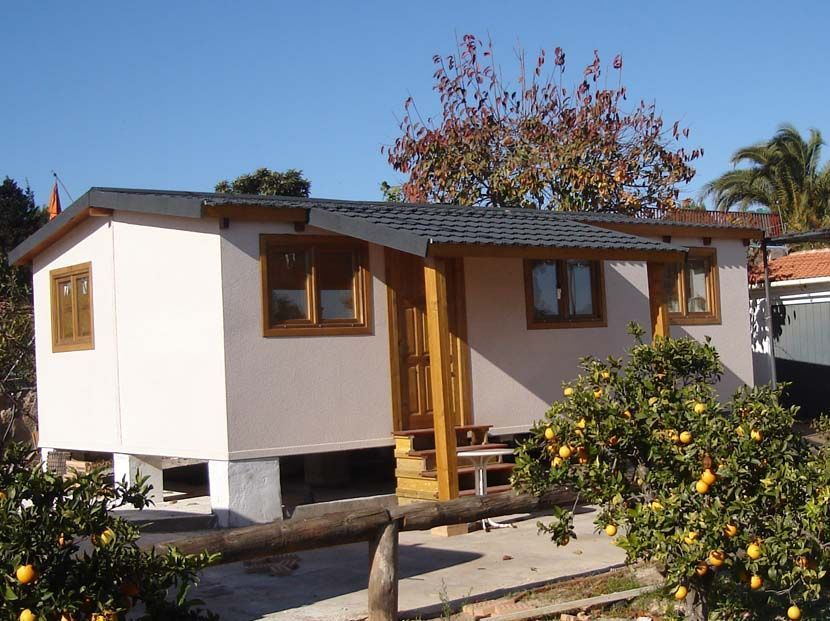Casas de madera modulares denia 47 m casas carbonell - Casas de madera modulares ...
