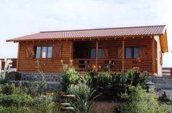 chalet de madera Casas Carbonell, prefabricado