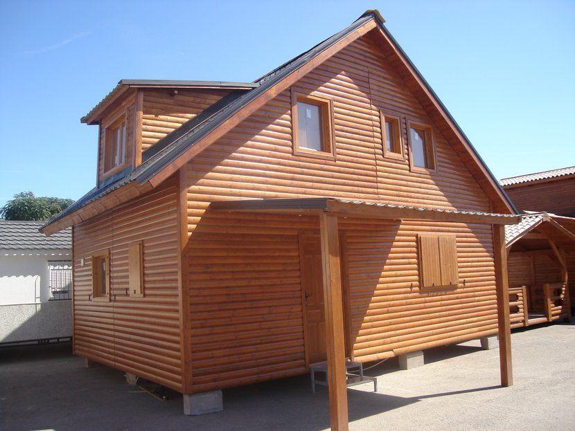 Casa de madera carpato n rdica 98 3h m casas carbonell - Casas de madera nordicas ...