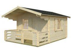 casita jardín en madera Sylvi 10.4 de Casas Carbonell en madera maciza