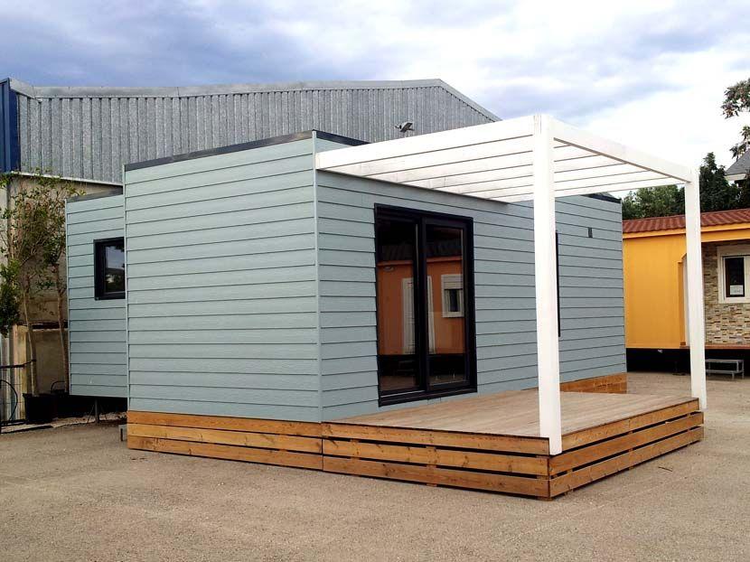 Casa Moderna Modular, modelo  Cabriel 48m²  9,20×6,00
