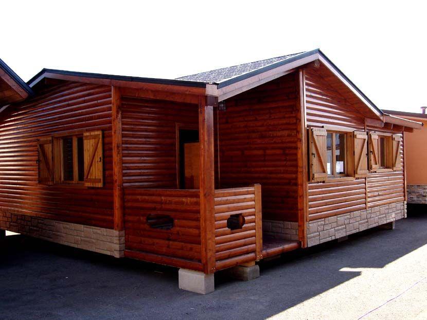 Casa prefabricada de madera modelo Calatis 59m² 7,80×7,50