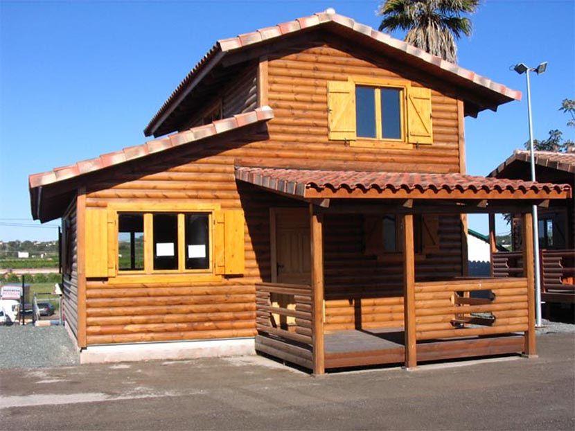 Venta casa madera modelo nadia fantom 92 m casas carbonell - Casas prefabricada de madera ...