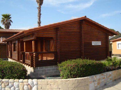 Oferta de casa de troncos de madera maciza