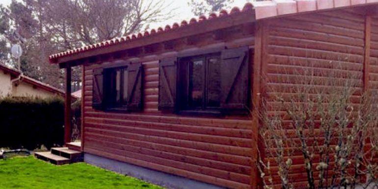 Casas de madera Carbonell, modelo Palisandro