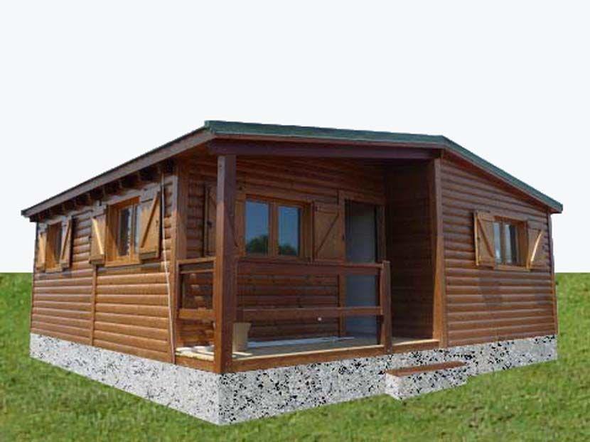 Casa de Madera Prefabricada Carpato NH Macieira 74m²