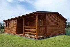 casa prefabricada de madera Nogal de Casas Carbonell moviles