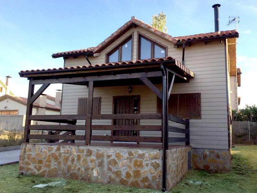 Casa prefabricada de madera Carpato Orea 111m²    8,00 x 6,00