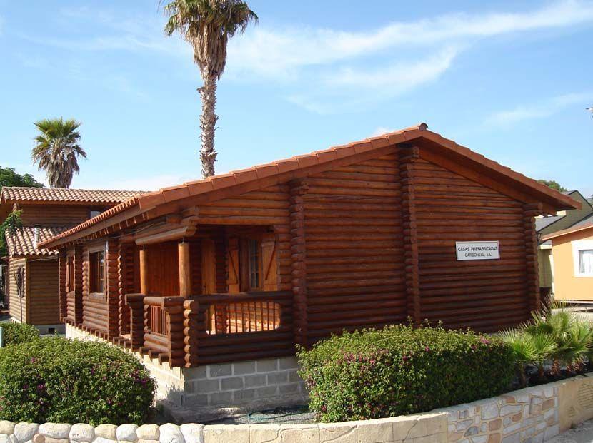 Casa madera prefabricada, modelo Primavera 96m²