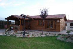 Casas de madera modulares Silvana 3L de Casas Carbonell