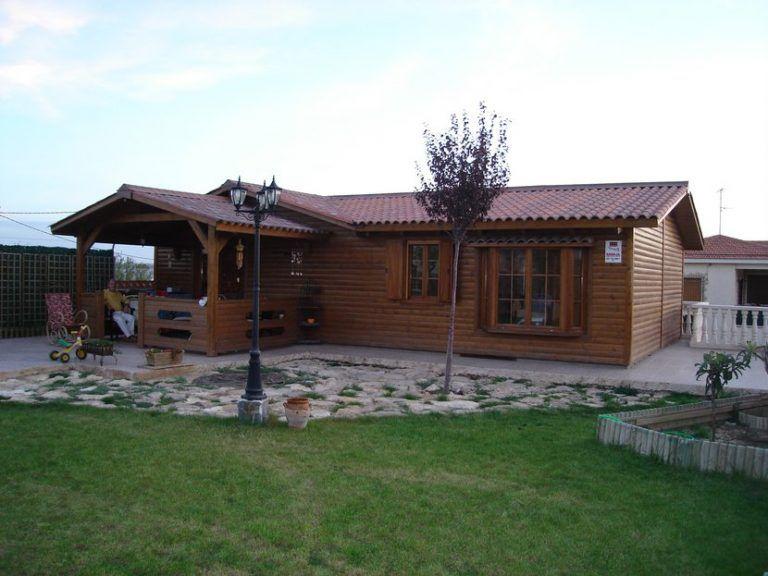 Casa prefabricada de madera modelo Silvana 3L 86m²
