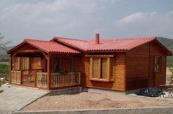 casa modular de madera Silvana 4C de Casas Carbonell