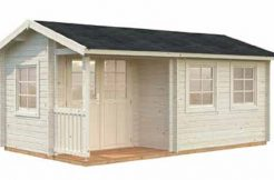 Casetas de jardín madera SUSANNA 12,4