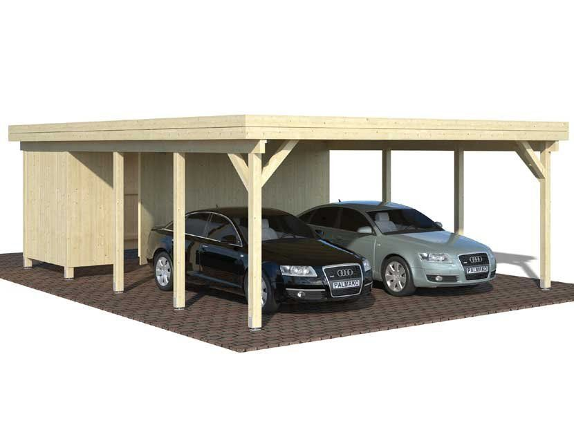 Cochera CARPORT KARL 40,6 m² 600×762