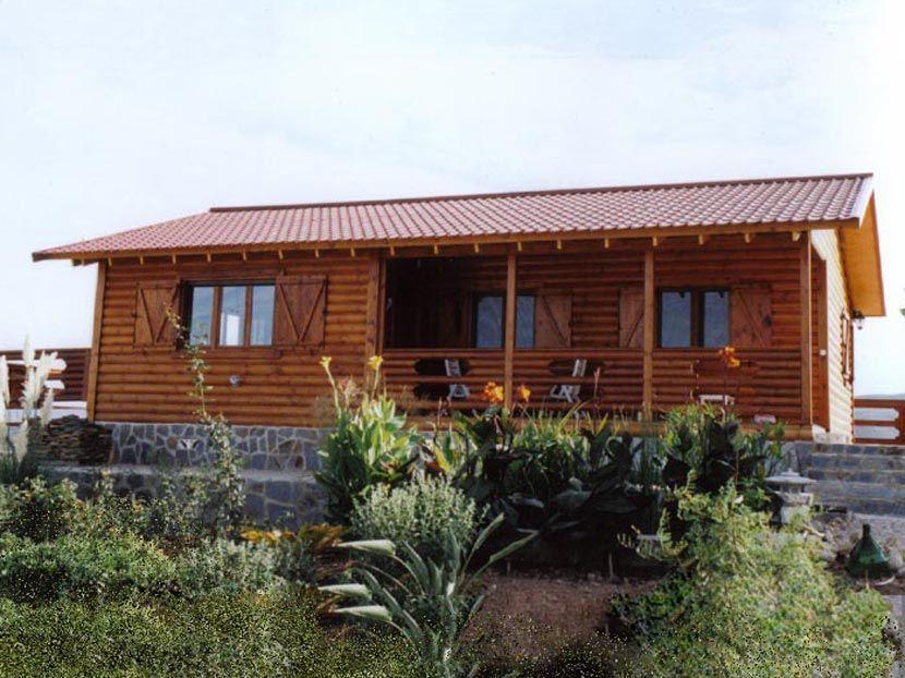 Un verano en nuestras casas madera madrid casas carbonell - Casas de madera madrid ...