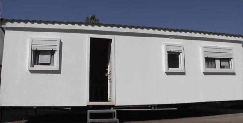 Casa prefabricada Hergohomes, modelo Cronos LX de 30m²