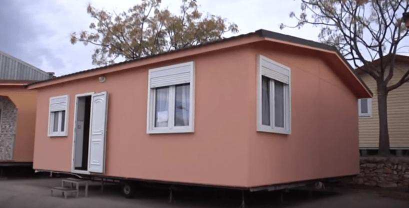 Casa prefabricada económica Hergohomes, modelo Victoria 2A 50m²